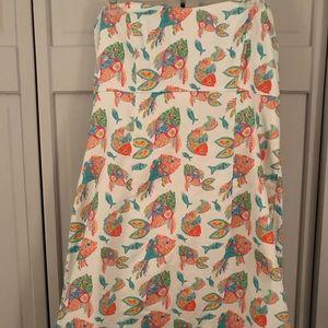 Kaeli Smith Strapless Dress